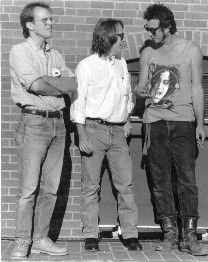 [Peter Keane, Bill, and Greg Brown]